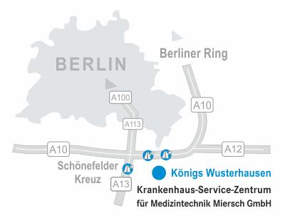 Karte KSZ Miersch